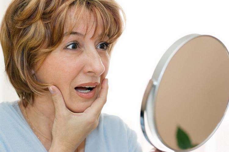 Regard sur le vieillissement du visage